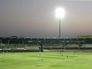 Tamil Nadu cricket team - Image: M. A. Chidambaram Stadium Challenger Trophy 2006