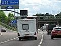 M42 Motorway Southbound Junction 4 - geograph.org.uk - 2436508.jpg