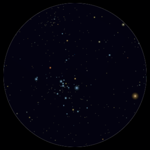 M 47 al telescopio 114mm
