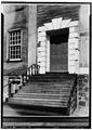 MAIN ENTRANCE, SOUTH FACADE - Shirley-Eustis House, 33 Shirley Street, Boston, Suffolk County, MA HABS MASS,13-ROX,9-4.tif