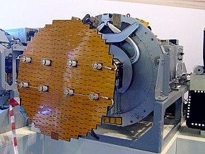 Pulse-Doppler radar - Airborne pulse-Doppler radar antenna