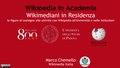 MChemello, Wikimediani in residenza - Wikipedia in Academia 2019.pdf