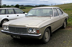 Holden Kingswood - 1974–1976 Holden HJ Premier, the luxury variant of the HJ short-wheelbase range.