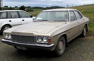 Holden Kingswood - 1974–1976 Holden HJ Premier, the luxury variant of the HJ short-wheelbase range.