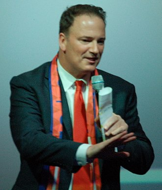 Jeff Berding - Berding speaks at a 2016 town hall event advocating for an MLS expansion team in Cincinnati.