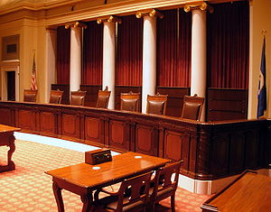 Minnesota State Capitol Supreme Court Chamber ...