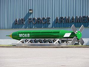 GBU-43/B MOAB - Image: MOABAFAM