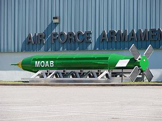 GBU-43/B MOAB United States large-yield thermobaric bomb