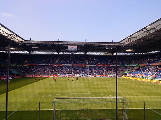 MSV-Arena Stehtribüne