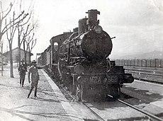 locomotora de la mza una de las mas potentes de su tiempo alrededor de 1920