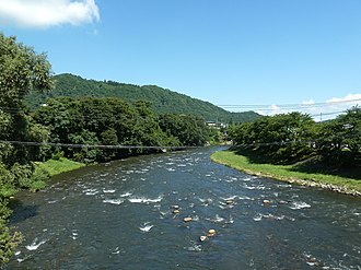 Mabechi River - Mabechi River in Ninohe, Iwate