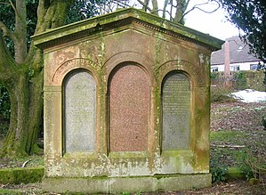 Clyde Muirshiel Regional Park - Memorial to the MacDowalls of Garthland, latter day owners of the Castle Semple estate.