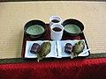 Maccha tea azuki bean paste mochi.jpg