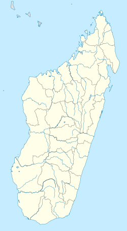 Antsiranana is located in Madagaska