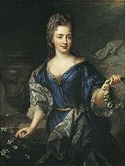 Portrait of Marie Anne de Bourbon, Princess of Conti