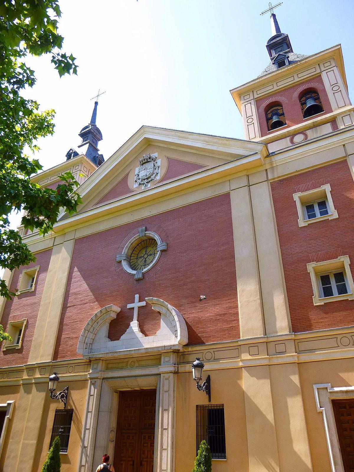 Basilica of nuestra se ora de atocha wikidata for Biblioteca iglesia madrid