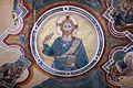 Maestro espressionista di santa chiara (forse palmerino di guido), storie francescane, 1290-1310 circa, redentore tra gli evangelisti 02.JPG