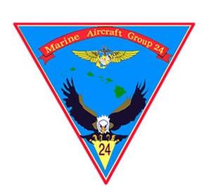 Marine Aircraft Group 24 - MAG-24 Insignia