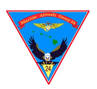 Marine Aircraft Group 24 - MAG-24 Insignia