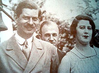 Walter Krivitsky - Magda Lupescu (here, with King Carol II of Romania) was one of Krivitsky's recruits