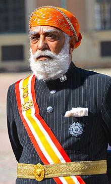 Maharana z Udaipur Arvind Singh Mewar.jpg