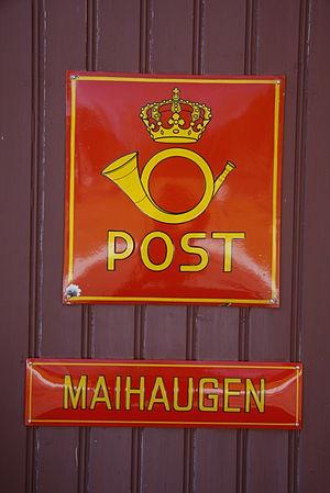 Maihaugen - Maihaugen Postal Sign