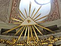 Main altar in Basilica of the Nativity of St. Mary and St. Nicholas in Bielsk - 07.jpg