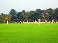 Main ground at the Salt Lake campus leased out to CAB hosting a Ranji trophy match between Bengal and MP.jpg