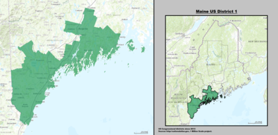 Maine's 1st congressional district - since January 3, 2013.