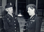 Maj Maude Davison and Lt Eunice Young