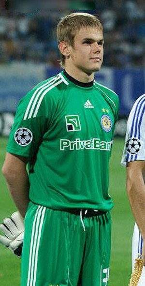 Maksym Koval - Koval with Dynamo Kyiv in 2010