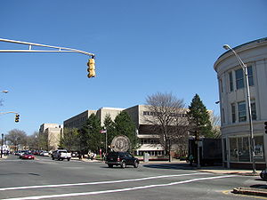 Malden, Massachusetts - View of Malden High School