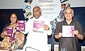 """Mallikarjun Kharge releasing a Handbook for People Living With HIV on Advocacy at Workplaces, at the inauguration of the Workshop on """"Prevention of HIVAIDS in the world of Work – A Tripartite Response"""", in New Delhi.jpg"""