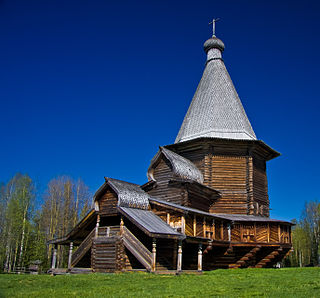open-air museum close to Arkhangelsk, Russia