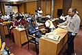Manash Bagchi - Presentation - Technology for Museums - VMPME Workshop - Science City - Kolkata 2015-07-16 9182.JPG