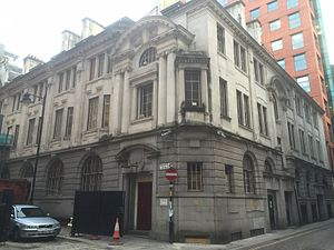 Manchester Stock Exchange - The Stock Exchange during redevelopment