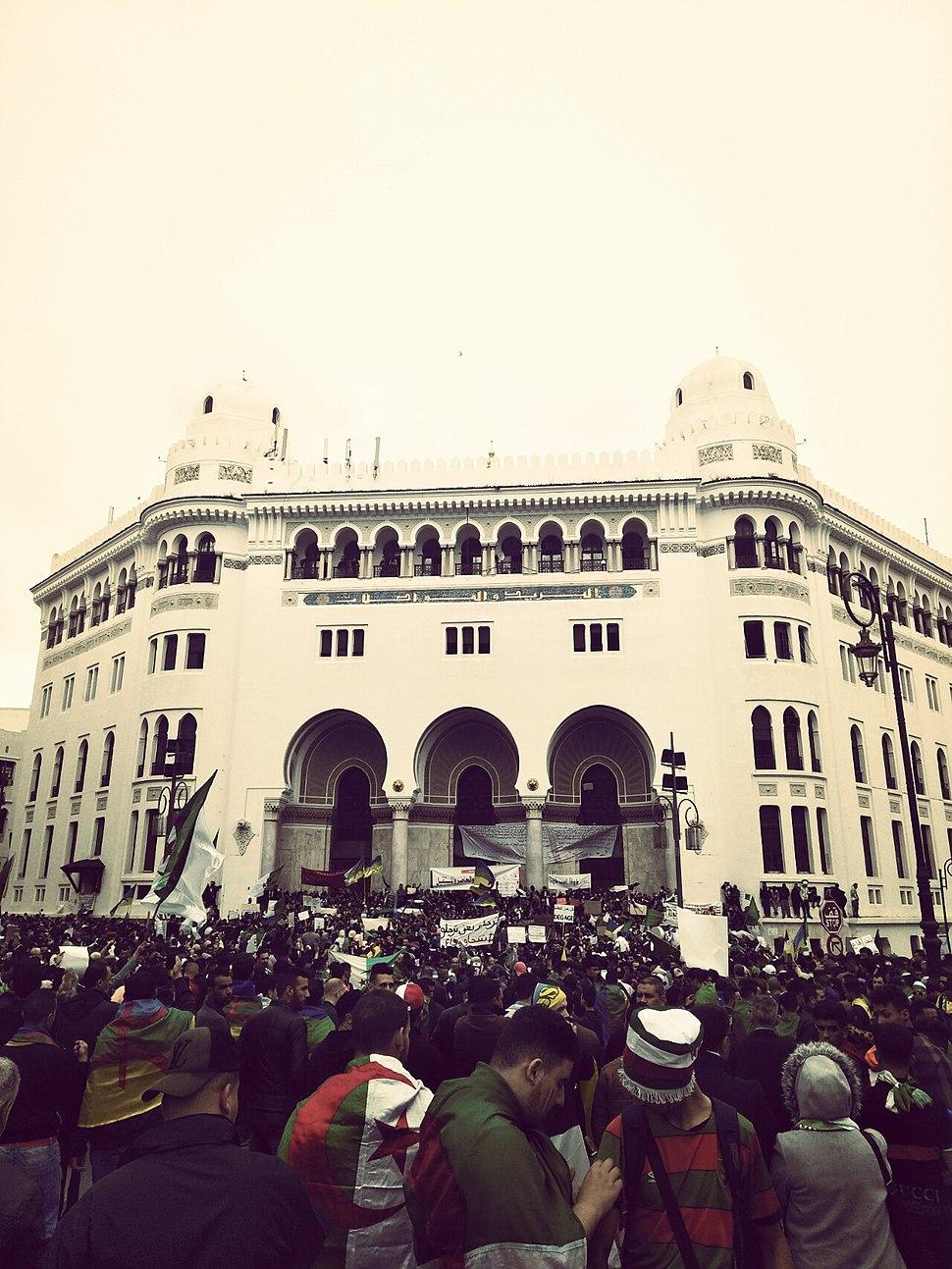 Manifestation Grande-Poste