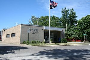 Mansfield, Illinois - Mansfield Post Office