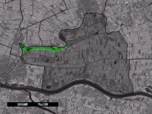 Spijk, Lingewaal - Image: Map NL Lingewaal Spijk
