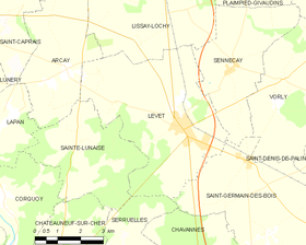 Map commune FR insee code 18126.png
