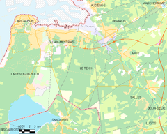 Map commune FR insee code 33527.png