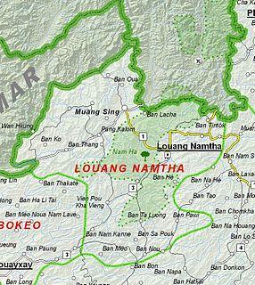 Luang Namtha Province Province of Laos