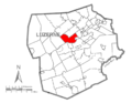 Map of Luzerne County, Pennsylvania Highlighting Plymouth Township.PNG