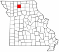Map of Missouri highlighting Grundy County.png