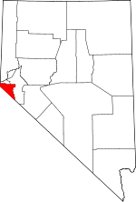 Map of Nevada highlighting Douglas County.svg