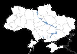 Ucraina - Mappa