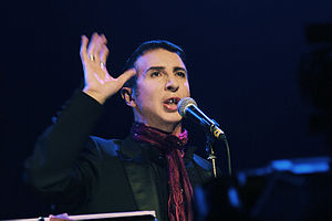 Marc Almond - Almond performing in October 2008