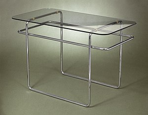 Marcel Breuer - Marcel Breuer. Table, Model B19, ca. 1928 Brooklyn Museum