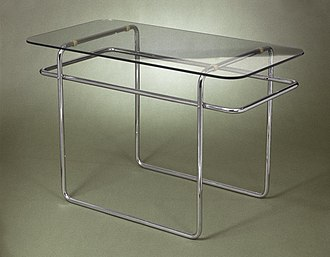 Marcel Breuer - Marcel Breuer. Table, Model B19, ca. 1928 Brooklyn Museum