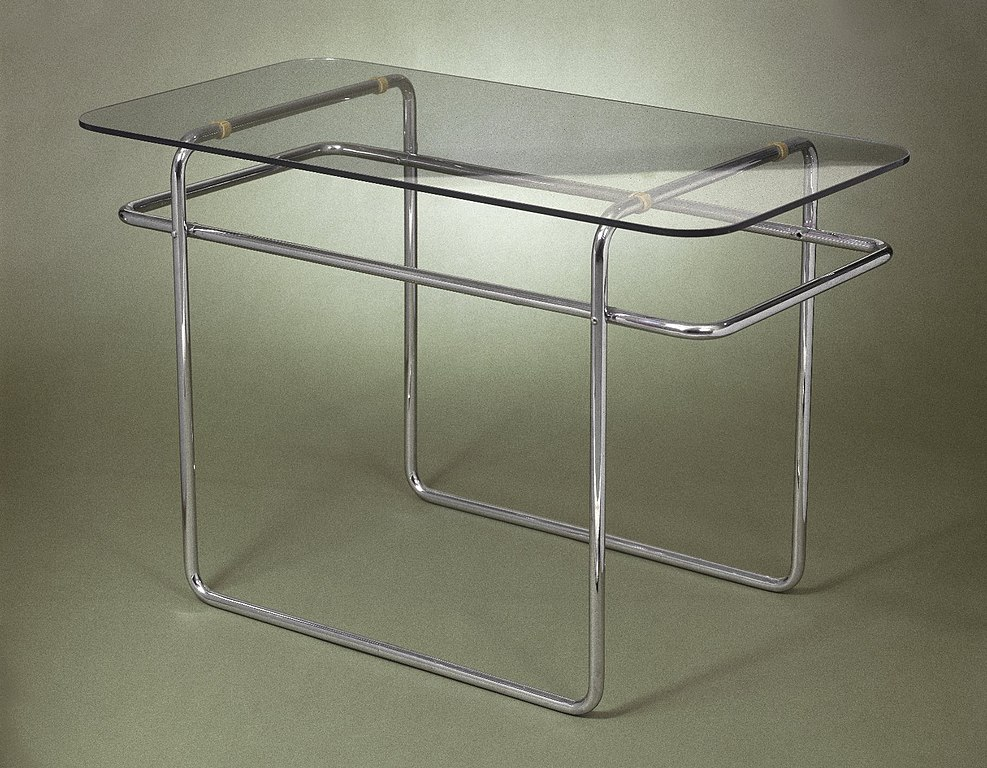 file marcel breuer table model b19 ca wikipedia. Black Bedroom Furniture Sets. Home Design Ideas